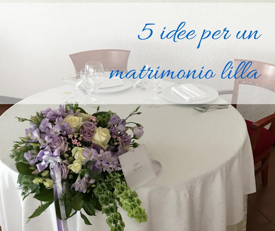 Matrimonio In Lilla : Idee per un matrimonio lilla idee fiorite