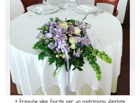 3 idee per un matrimonio d'estate.