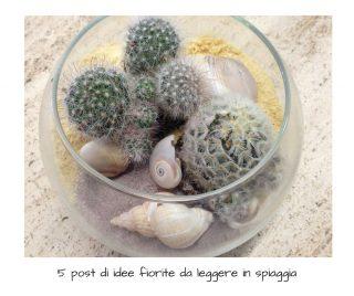 5 post di idee fiorite da leggere in spiaggia