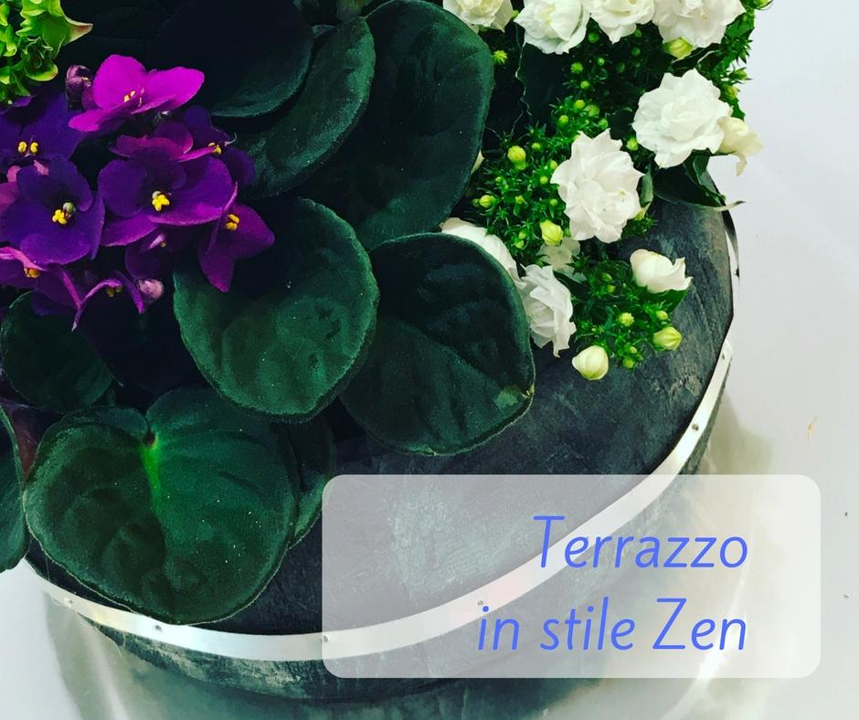Terrazzo in stile Zen | Idee fiorite