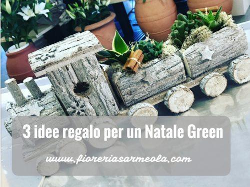 3 idee regalo per un Natale a tema Green.