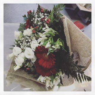 Un bouquet classico a Natale