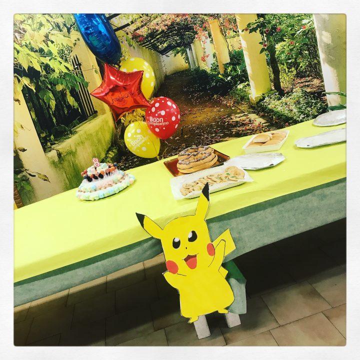 festa compleanno tema pokemon