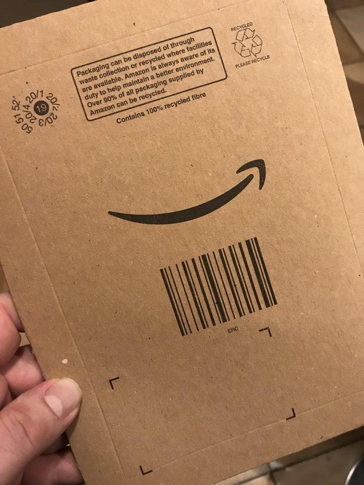 pacchetto amazon